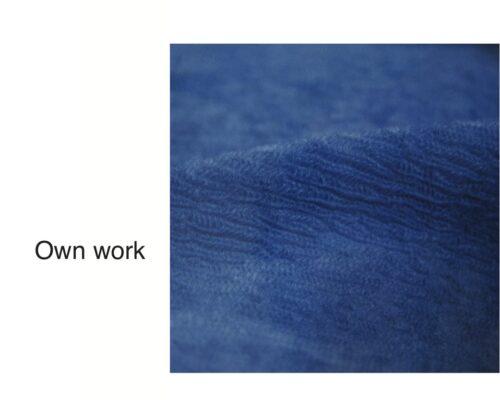 Circle knit double layer fabrics
